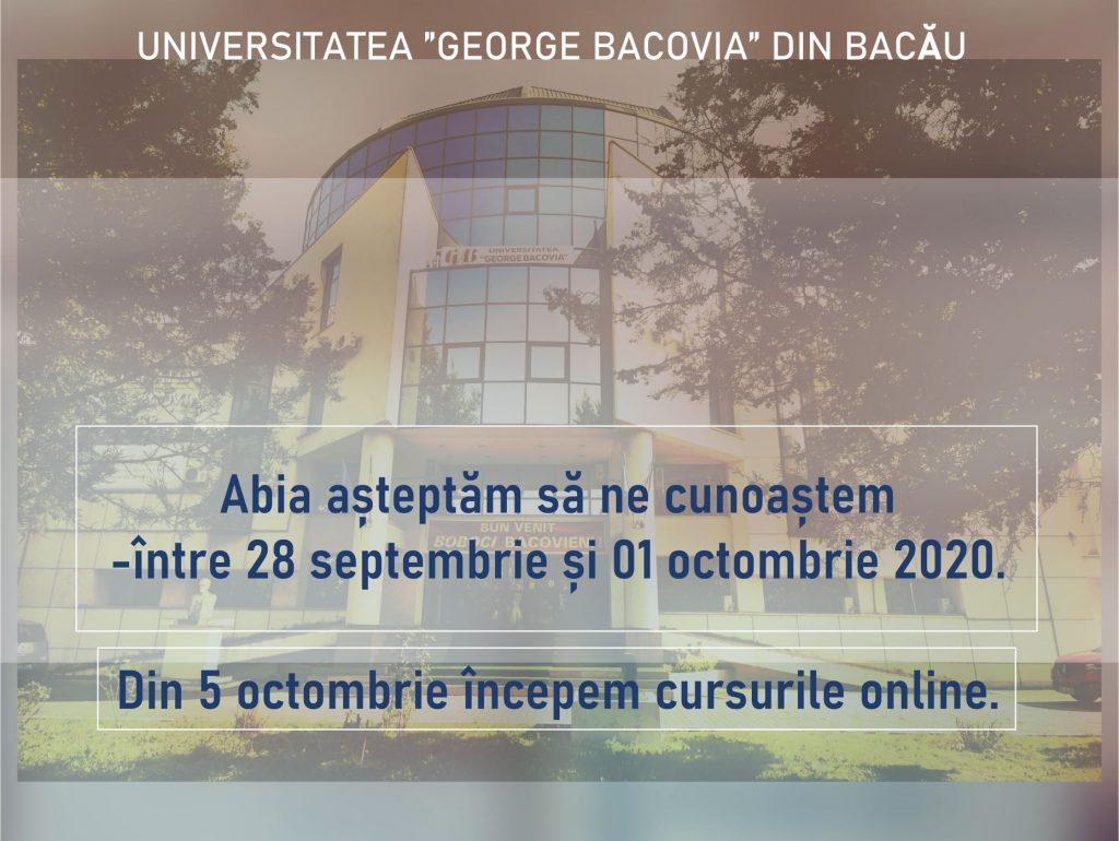 Deschiderea anului 2020-2021